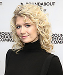 "Scarlett Strallen attends the ""Travesties"" Meets The Press on March 6, 2018 at the Roundabout Theatre in New York City."