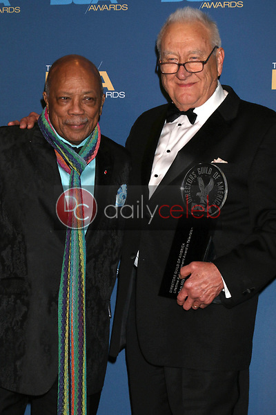 Quincy Jones, Don Mischer<br /> at the 71st Annual Directors Guild Of America Awards Press Room, Dolby Ballroom, Hollywood, CA 02-02-19<br /> David Edwards/DailyCeleb.com 818-249-4998