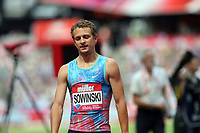 Erik Sowinski of USA after competing in the menís 800 metres during the Muller Anniversary Games at The London Stadium on 9th July 2017