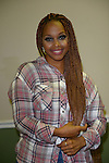 MIAMI, FL - SEPTEMBER 20: (EXCLUSIVE COVERAGE)Chrisette Michele backstage during the 'Back To Love Tour' at James L Knight Center on Saturday September 20, 2014 in Miami, Florida. (Photo by Johnny Louis/jlnphotography.com)