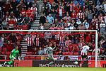 Sunderland fans celebrate as Chris Maguire of Sunderland scores his teams second goal. Sunderland 2 Portsmouth 1, 17/08/2019. Stadium of Light, League One. Photo by Paul Thompson.