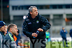 Kerry Manager Peter Keane during the Allianz Football League Division 1 Round 1 match between Dublin and Kerry at Croke Park on Saturday.