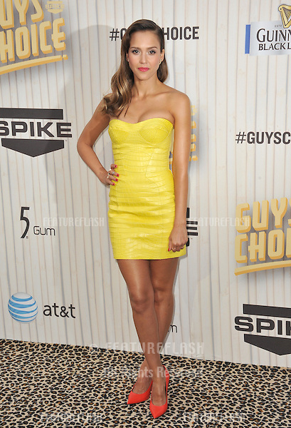 Jessica Alba at the 2013 Guys Choice Awards at Sony Studios, Culver City.<br /> June 8, 2013  Los Angeles, CA<br /> Picture: Paul Smith / Featureflash