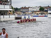 Henley Royal Regatta, Henley on Thames, Oxfordshire, 28 June - 2 July 2017.  Wednesday  15:14:19   28/06/2017  [Mandatory Credit/Intersport Images]<br /> <br /> Rowing, Henley Reach, Henley Royal Regatta.<br /> <br /> The Temple Challenge Cup<br />  Santa Clara University, U.S.A.