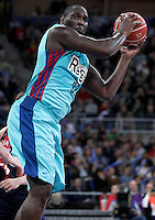 FC Barcelona Regal's Nathan Jawai during Spanish Basketball King's Cup semifinal match.February 07,2013. (ALTERPHOTOS/Acero)