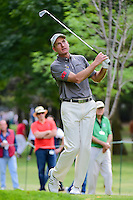 Jim Furyk (USA) watches his tee shot on 7 during round 2 of the World Golf Championships, Mexico, Club De Golf Chapultepec, Mexico City, Mexico. 3/3/2017.<br /> Picture: Golffile | Ken Murray<br /> <br /> <br /> All photo usage must carry mandatory copyright credit (&copy; Golffile | Ken Murray)