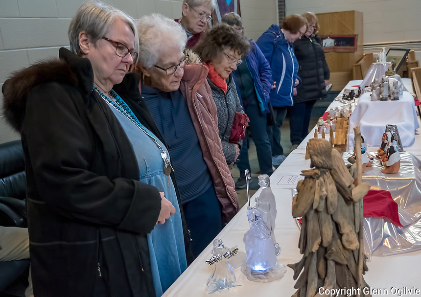Over 300 nativity scenes created around the world and owned by local residents attracted close to 1,000 visitors during a Nativity Walk at First Christian Reformed Church.