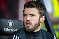 Michael Carrick of Man Utd during the Premier League match between Bournemouth and Manchester United at the Goldsands Stadium, Bournemouth, England on 18 April 2018. Photo by Andy Rowland.