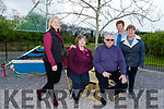 The  Opening Of Wood Carving and Marine Effect Area in Manor Village  on Monday. Pictured Residents of Manor Village Ann McCarthy, Ann Walsh, Denise Farrell, Jennifer Mackey, Joe Moynihan