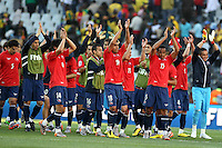 SOCCER/FUTBOL..WORLD CUP 2010..HONDURAS VS CHILE..Action photo of players of Chile, during World Cup 2010 game at the Mbombela stadium of Nelspruit, South Africa./Foto de accion de jugadores de Chile, durante juego de la Copa del Mundo 2010 en elMbomela stadium de Nelspruit, Sudafrica. 16 June 2010 MEXSPORT/OMAR MARTINEZ