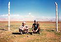 Turkey 1989  In the camp of Mardin, from left to right, Piro Herruli and Mohammed Rashid, refugees of Iraqi Kurdistan<br /> <br /> Turquie 1989  Au camp de Mardin, de gauche a droite, Piro Herruli et Mohammed Rashid, r&eacute;fugi&eacute;s kurdes irakiens<br /> <br />    تورکیا 1989 ، که مپی ماردین، له لای چه په وه بو راست: پیرو هیرولی ، محه مه د ره شید  پنابه رانی کوردی عیراقی