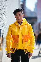 Bryanboy attends Day 8 of New York Fashion Week on Feb 19, 2015 (Photo by Hunter Abrams/Guest of a Guest)