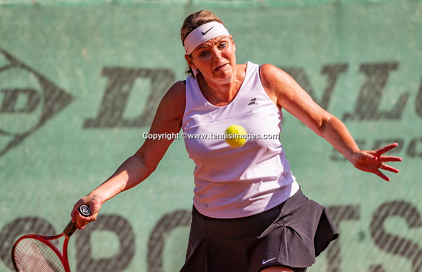 Hilversum, The Netherlands, September 2, 2018,  Tulip Tennis Center, NKS, National Championships Seniors, Womans 45+ final: Carole Beelen (NED)<br />