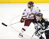 Meghan Fardelmann (Boston College - 18), (Pehkonen) - The Providence College Friars defeated the Boston College Eagles 2-1 (shootout) on Saturday, February 21, 2009, on BC's senior night at Conte Forum in Chestnut Hill, Massachusetts.