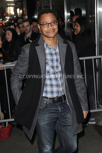 WWW.ACEPIXS.COM . . . . . .April 21, 2013...New York City....Cuba Gooding Jr. attends the Cinema Society screening of 'Mud' at The Museum of Modern Art on April 21, 2013 in New York City ....Please byline: KRISTIN CALLAHAN - ACEPIXS.COM.. . . . . . ..Ace Pictures, Inc: ..tel: (212) 243 8787 or (646) 769 0430..e-mail: info@acepixs.com..web: http://www.acepixs.com .