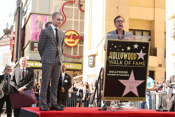 Hollywood, CA - November 12 Daniel Radcliffe, Chris Columbus Attending Daniel Radcliffe Honored With Star On The Hollywood Walk Of Fame At The Hollywood Walk Of Fame On November 12, 2015. Photo Credit: Faye Sadou / MediaPunch