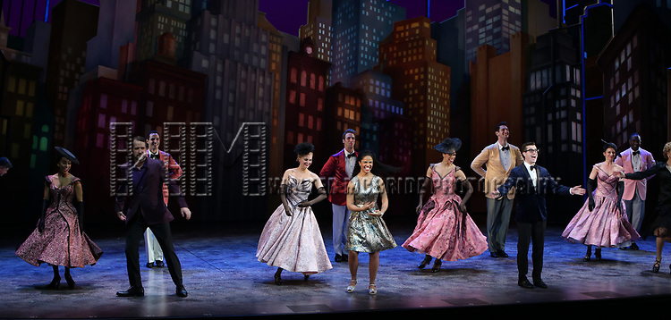 """Ensemble cast during the Broadway Opening Night of """"Tootsie"""" at The Marquis Theatre on April 22, 2019  in New York City."""