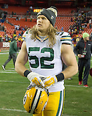 Green Bay Packers outside linebacker Clay Matthews (52) leaves the field following his team's 42 - 24 loss to Washington Redskins at FedEx Field in Landover, Maryland on Sunday, November 20, 2016. <br /> Credit: Ron Sachs / CNP