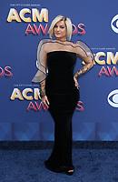 15 April 2018 - Las Vegas, NV - Bebe Rexha.  2018 ACM Awards arrivals at MGM Grand Garden Arena. <br /> CAP/ADM/MJT<br /> &copy; MJT/ADM/Capital Pictures