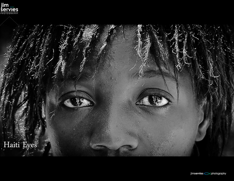 I met this Haitian girl on my first trip to Haiti. Her eyes represent what I witnessed in so many Haitians - A search for something better.  This photograph always moves me but in a good way.  A way that makes me want to do something.  Capturing the spirit of the moment is powerful this moment came straight through my viewfinder and touched my soul.   Love this girl!