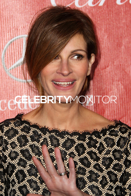 PALM SPRINGS, CA - JANUARY 04: Actress Julia Roberts arrives at the 25th Annual Palm Springs International Film Festival Awards Gala held at Palm Springs Convention Center on January 4, 2014 in Palm Springs, California. (Photo by Xavier Collin/Celebrity Monitor)