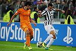 IM Torino 05-11-2013 Juventus Stadium<br /> Champions League 2013/2014<br /> Juventus Vs Real Madrid<br /> nella foto Quagliarella-Khiedira<br /> foto Marco Iorio