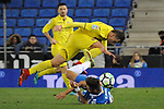 League Santander 2017-2018 - Game: 24.<br /> RCD Espanyol vs Villarreal CF: 1-1.<br /> Marc Navarro vs Denis Cheryshev.
