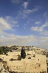 Israel, Jerusalem Old City, a view of Al Aqsa Mosque