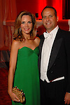 Laurel and Tom Blando at the Houston Grand Opera Ball at the Wortham Theater Saturday  April 05,2008. (Dave Rossman/For the Chronicle)