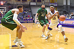 Albany defeats Binghamton 71-54 on Senior Night in an America East conference game on February 27, 2018 at SEFCU Arena in Albany, New York.  (Bob Mayberger/Eclipse Sportswire)