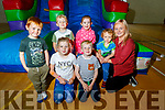 Enjoying the bouncy castle at the Little Heros Fun day event by Recovery Haven in the John Mitchels Complex on Sunday.<br /> Kneeling l to r: Noreena and Luke Kelliher.<br /> Back l to r: Jake and Mark Kelly, Sophie O'Sullivan Murphy, Tadgh and Olivia Kelliher,