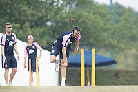 Toby Roland-Jones of Middlesex CCC during Middlesex CCC vs Hampshire CCC, Bob Willis Trophy Cricket at Radlett Cricket Club on 11th August 2020