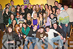 18TH BIRTHDAY: Meagan O'Brien, Camp (seated 3rd left) who celebrated her 18th birthday on Saturday night with family and friends in Ashie's bar, Camp.   Copyright Kerry's Eye 2008
