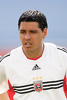 D.C. United's Christian Gomez. The New England Revolution and D.C. United finished in a scoreless tie in MLS play at Gillette Stadium, Foxboro, MA on Saturday August 28, 2004.