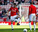 Ched Evans of Sheffield Utd during the Championship match at the Stadium of Light, Sunderland. Picture date 9th September 2017. Picture credit should read: Simon Bellis/Sportimage