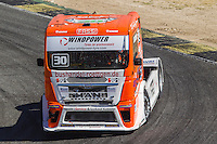 German driver Sascha Lenz belonging German team Sascha Lenz during the third race R3 of the XXX Spain GP Camion of the FIA European Truck Racing Championship 2016 in Madrid. October 02, 2016. (ALTERPHOTOS/Rodrigo Jimenez) /NORTEPHOTO.COM / © NORTEPHOTO.C OM