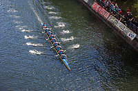 China High-Performance Eight Men's Rowing Team, Windermere Cup 2017, Mountlake Cut, Lake Washington, Seattle, WA, USA.