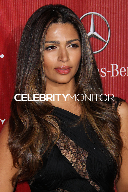 PALM SPRINGS, CA - JANUARY 04: Model Camila Alves arrives at the 25th Annual Palm Springs International Film Festival Awards Gala held at Palm Springs Convention Center on January 4, 2014 in Palm Springs, California. (Photo by Xavier Collin/Celebrity Monitor)