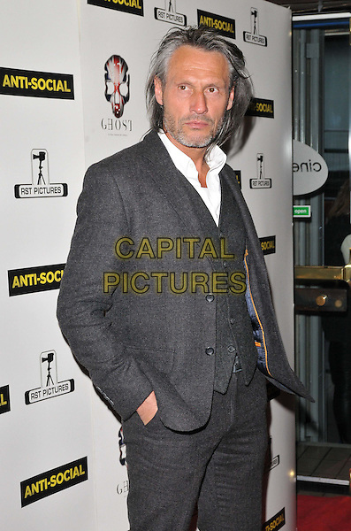 LONDON, ENGLAND - APRIL 28: Rob Knighton attends the &quot;Anti-Social&quot; UK film premiere, Cineworld Haymarket, Haymarket, on Tuesday April 28, 2015 in London, England, UK. <br /> CAP/CAN<br /> &copy;Can Nguyen/Capital Pictures