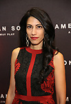 Huma Abedin attends the Broadway Opening Night of 'AMERICAN SON' at the Booth Theatre on November 4, 2018 in New York City.