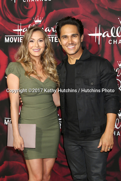 LOS ANGELES - JAN 14:  Alexa PenaVega, Carlos PenaVega at the Hallmark TCA Winter 2017 Party at Rose Parade Tournament House  on January 14, 2017 in Pasadena, CA