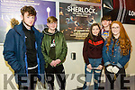 Tralee Omniplex showed the Series Four finale of  'Sherlock' on Sunday pictured l-r Michael Flynn, Michael Cahill, Ava Kelly, Allie Guilfoyle and Kieran O'Sullivan0851460560