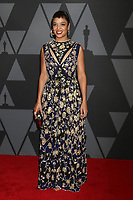 HOLLYWOOD, CA - NOVEMBER 11: Tessa Thompson at the AMPAS 9th Annual Governors Awards at the Dolby Ballroom in Hollywood, California on November 11, 2017. <br /> CAP/MPI/DE<br /> &copy;DE/MPI/Capital Pictures