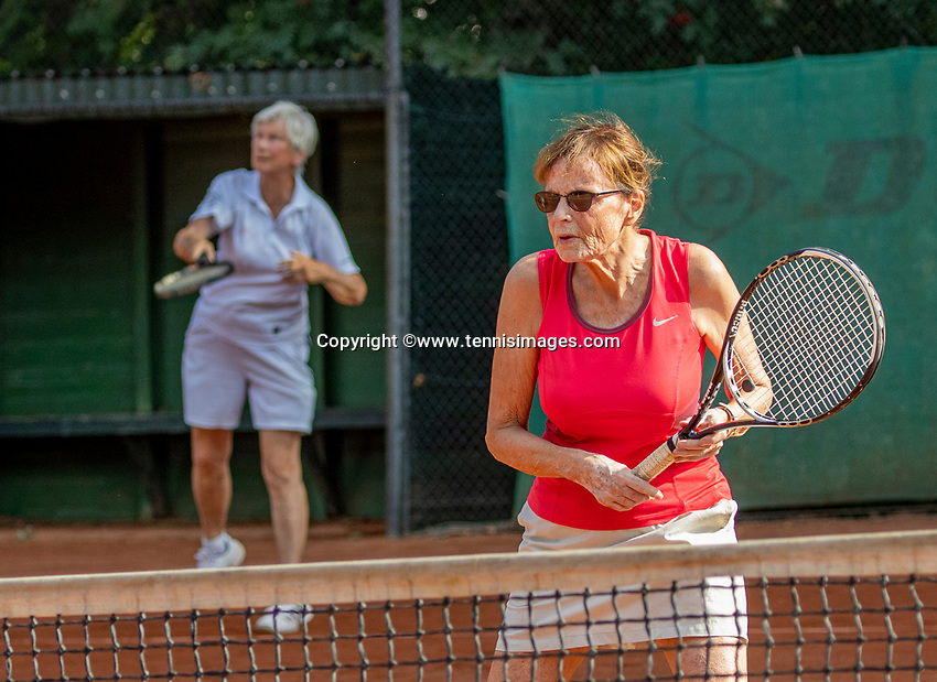 Hilversum, The Netherlands,  August 23, 2019,  Tulip Tennis Center, NSK, women's doubles<br /> Photo: Tennisimages/Henk Koster