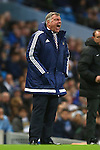 Manager of Sunderland, Sam Allardyce shouts from the sideline - Manchester City vs Sunderland - Barclays Premier League - Etihad Stadium - Manchester - 26/12/2015 Pic Philip Oldham/SportImage