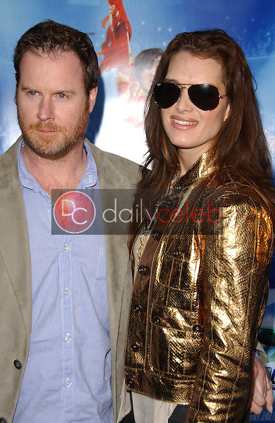 Chris Henchy and Brooke Shields<br />