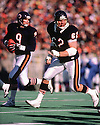 Chicago Bears Mark Bortz (62) during a game from his 1985 season with the Chicago Bears. Mark Bortz played 12 season all with the Chicago Bears and was a 2-time Pro Bowler.