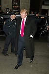 Donald Trump Attends the Opening Night Performance for the Broadway Revival,  SWEET CHARITY at the Al Hirschfeld Theatre in New York City.<br />