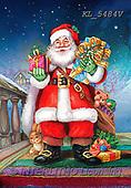 CHRISTMAS SANTA, SNOWMAN, WEIHNACHTSMÄNNER, SCHNEEMÄNNER, PAPÁ NOEL, MUÑECOS DE NIEVE, paintings+++++,KL5484V,#X#