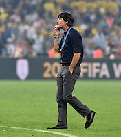 FUSSBALL WM 2014                       FINALE   Deutschland - Argentinien     13.07.2014 DEUTSCHLAND FEIERT DEN WM TITEL: Bundestrainer Joachim Loew (Deutschland)